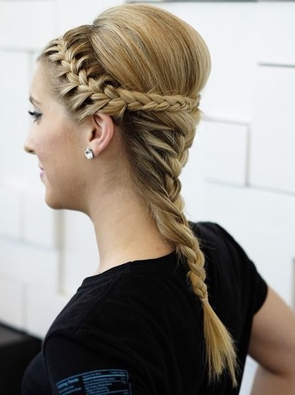plaited wedding hair ideas, Hale hairdressers
