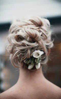 Stunning bridal hairstyle Hale hair salon