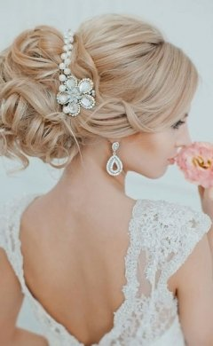 beautiful wedding upstyle, Frisor hair salon, Hale, southern Manchester