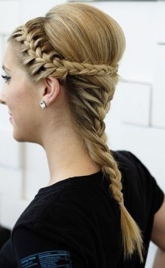 plaited wedding hair ideas, Hale hairdressers