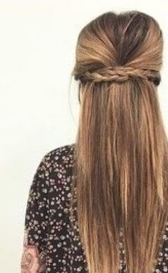 stylist plaited wedding hair, Frisor salon, Hale