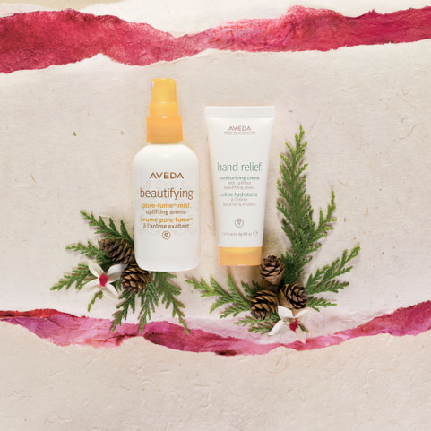 aveda beautifying products