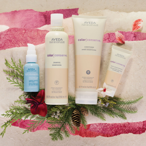 aveda hair colour products